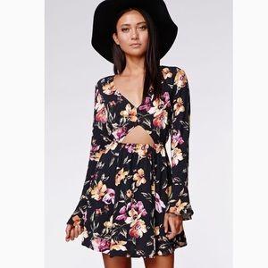 • kendall & kylie • floral dress